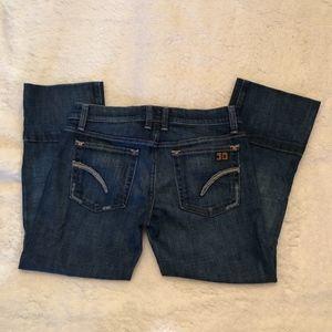 Joe's Socialite Kicker Crop Jeans